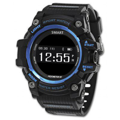 Buy BLUE Zeblaze MUSCLE HR Smartwatch for $29.77 in GearBest store