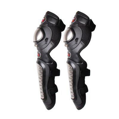 PRO - BIKER P15 2pcs Knee PadsMotorcycle Clothing<br>PRO - BIKER P15 2pcs Knee Pads<br><br>Accessories type: Safety Protector<br>Brand: PRO-BIKER<br>Gender: Universal<br>Material: Stainless Steel, Foam, Diving fabrics<br>Package Contents: 2 x Knee Pad<br>Package size (L x W x H): 56.00 x 20.00 x 10.00 cm / 22.05 x 7.87 x 3.94 inches<br>Package weight: 0.8400 kg<br>Product size (L x W x H): 43.00 x 15.00 x 8.00 cm / 16.93 x 5.91 x 3.15 inches<br>Product weight: 0.7800 kg<br>Size: One Size Fits All<br>Type: Elbow Knee Pads
