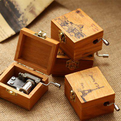 Wooden Hand Crank Music BoxCrafts<br>Wooden Hand Crank Music Box<br><br>Material: Metal, Wood<br>Package Contents: 1 x Music Box<br>Package size (L x W x H): 9.00 x 6.00 x 4.70 cm / 3.54 x 2.36 x 1.85 inches<br>Package weight: 0.1600 kg<br>Product size (L x W x H): 6.58 x 5.50 x 4.00 cm / 2.59 x 2.17 x 1.57 inches<br>Product weight: 0.1500 kg<br>Usage: Christmas, New Year, Birthday, Others
