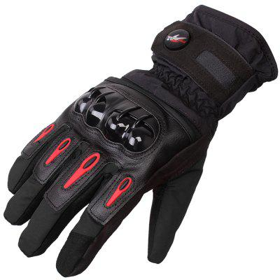 PRO - BIKER MTV08 Racing GlovesMotorcycle Gloves<br>PRO - BIKER MTV08 Racing Gloves<br><br>Accessories type: Motorcycle Gloves<br>Brand: PROBIKER<br>Function: Waterproof, Wearable, Windproof<br>Gender: Universal<br>Material: Velveteen, Sponge, Microfiber<br>Model: MTV08<br>Package Contents: 1 x Pair of Gloves<br>Package size (L x W x H): 30.00 x 12.00 x 5.00 cm / 11.81 x 4.72 x 1.97 inches<br>Package weight: 0.2000 kg<br>Product weight: 0.1700 kg<br>Size: L,M,XL