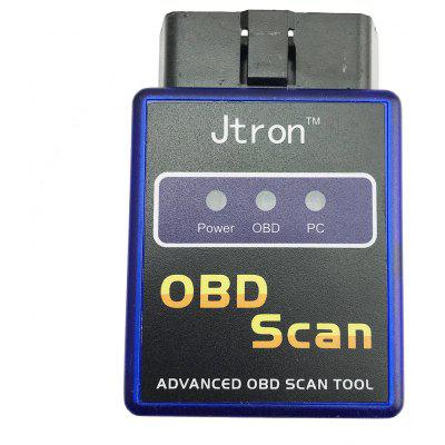 Jtron Wireless Mini ELM327 OBD II General Car Bluetooth Diagnostic Scanner Tool