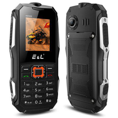 EL K6900 Quad Band Unlock PhoneCell phones<br>EL K6900 Quad Band Unlock Phone<br><br>Additional Features: Calculator, Alarm, Bluetooth, MP3, Browser, MP4, Calendar<br>Back-camera: 0.3MP<br>Battery: 1 x 2000mAh battery<br>Bluetooth: Yes<br>Brand: EL<br>Camera type: Single camera<br>Cell Phone: 1<br>Earphones: 1<br>English Manual : 1<br>External Memory: TF card up to 32GB (not included)<br>Frequency: GSM 850/900/1800/1900MHz<br>Languages: English, Spanish, Russian, French, German<br>Music format: WAV, MP3<br>Network type: GSM<br>Package size: 14.50 x 8.00 x 6.00 cm / 5.71 x 3.15 x 2.36 inches<br>Package weight: 0.2700 kg<br>Picture format: JPEG<br>Power Adapter: 1<br>Product size: 12.00 x 5.70 x 2.30 cm / 4.72 x 2.24 x 0.91 inches<br>Product weight: 0.1000 kg<br>RAM: 32MB<br>ROM: 32MB<br>Screen size: 1.77 inch<br>SIM Card Slot: Dual SIM, Dual Standby<br>TF card slot: Yes<br>Tool for Opening Case: 1<br>Type: Bar Phone<br>USB Cable: 1<br>Video format: 3GP
