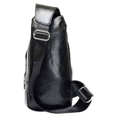 Men Leisure Water-resistant PU Chest BagCrossbody Bags<br>Men Leisure Water-resistant PU Chest Bag<br><br>Features: Wearable<br>Gender: Men<br>Material: PU, Polyester<br>Package Size(L x W x H): 15.00 x 3.00 x 33.00 cm / 5.91 x 1.18 x 12.99 inches<br>Package weight: 0.7100 kg<br>Packing List: 1 x Chest Bag<br>Product weight: 0.6500 kg<br>Style: Fashion, Casual<br>Type: Shoulder bag