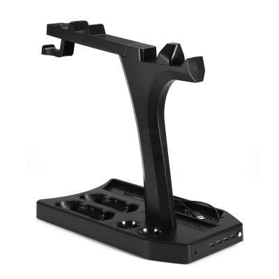 KJH PS4PRO05 Multifunctional Radiator StandGame Accessories<br>KJH PS4PRO05 Multifunctional Radiator Stand<br><br>Brands: KJH<br>Features: Stand<br>Game Accessories Type: Mounts and Brackets<br>Model: PS4PRO05<br>Package Contents: 1 x Radiator Stand, 1 x Cable<br>Package size: 39.00 x 22.70 x 9.50 cm / 15.35 x 8.94 x 3.74 inches<br>Package weight: 1.0000 kg<br>Product size: 37.00 x 20.70 x 3.20 cm / 14.57 x 8.15 x 1.26 inches<br>Product weight: 0.8030 kg