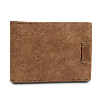 Men RFID Blocking Leather Bifold Spring Money Clip WalletWallets<br>Men RFID Blocking Leather Bifold Spring Money Clip Wallet<br><br>Features: Wearable<br>Gender: Men<br>Material: Leather<br>Package Size(L x W x H): 11.50 x 9.00 x 2.00 cm / 4.53 x 3.54 x 0.79 inches<br>Package weight: 0.0800 kg<br>Packing List: 1 x Wallet<br>Product Size(L x W x H): 10.50 x 8.00 x 1.00 cm / 4.13 x 3.15 x 0.39 inches<br>Product weight: 0.0500 kg<br>Style: Casual, Fashion<br>Type: Wallet