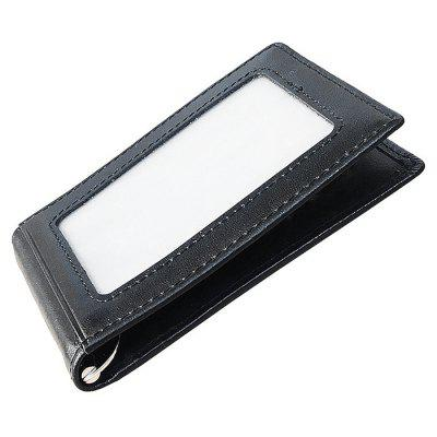 Leather Spring Loaded Bifold Money Clip Wallet for MenWallets<br>Leather Spring Loaded Bifold Money Clip Wallet for Men<br><br>Features: Wearable<br>Gender: Men<br>Material: Leather<br>Package Size(L x W x H): 12.00 x 2.00 x 9.00 cm / 4.72 x 0.79 x 3.54 inches<br>Package weight: 0.1600 kg<br>Packing List: 1 x Wallet<br>Product Size(L x W x H): 11.00 x 1.00 x 7.50 cm / 4.33 x 0.39 x 2.95 inches<br>Product weight: 0.1100 kg<br>Style: Casual, Fashion<br>Type: Wallet