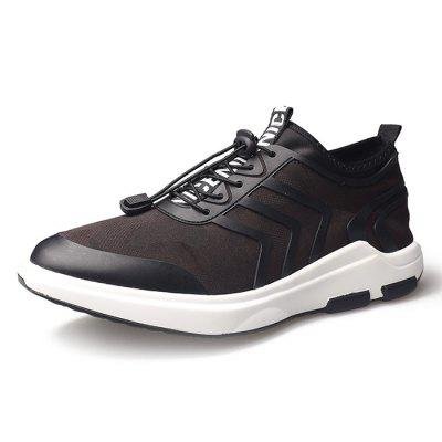 Junsite Male Breathable Knitted Mesh Light Sports SneakersAthletic Shoes<br>Junsite Male Breathable Knitted Mesh Light Sports Sneakers<br><br>Brand: Junsite<br>Closure Type: Lace-Up<br>Contents: 1 x Pair of Shoes<br>Materials: Woven Fabric, Viscose Rayon<br>Occasion: Sports, Shopping, Running, Riding, Outdoor Clothing, Holiday, Daily, Casual<br>Outsole Material: Viscose<br>Package Size ( L x W x H ): 32.50 x 20.50 x 11.00 cm / 12.8 x 8.07 x 4.33 inches<br>Package Weights: 1.05kg<br>Seasons: Autumn,Spring<br>Style: Leisure, Modern, Fashion, Casual, Comfortable<br>Toe Shape: Round Toe<br>Type: Sports Shoes<br>Upper Material: Woven Fabric