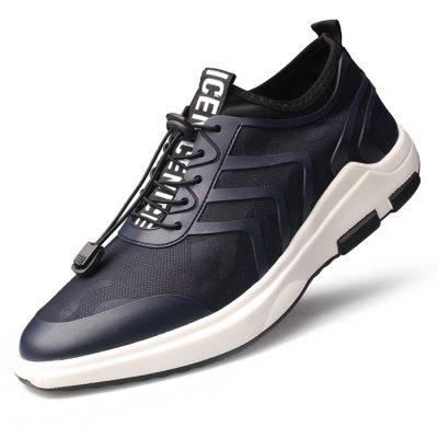 Junsite Masculino respirável malha de malha leve Athletic Shoes