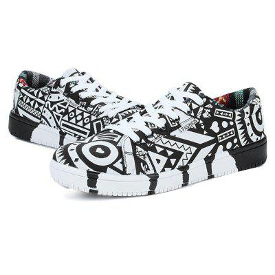 Male Stylish Soft Graffiti Pattern Anti Slip Leisure ShoesCasual Shoes<br>Male Stylish Soft Graffiti Pattern Anti Slip Leisure Shoes<br><br>Closure Type: Lace-Up<br>Contents: 1 x Pair of Shoes<br>Function: Slip Resistant<br>Materials: Rubber, PU<br>Occasion: Tea Party, Shopping, Outdoor Clothing, Holiday, Daily, Casual, Party<br>Outsole Material: Rubber<br>Package Size ( L x W x H ): 33.00 x 24.00 x 13.00 cm / 12.99 x 9.45 x 5.12 inches<br>Package Weights: 0.82kg<br>Pattern Type: Floral<br>Seasons: Autumn,Spring<br>Style: Modern, Leisure, Fashion, Comfortable, Casual<br>Toe Shape: Round Toe<br>Type: Casual Leather Shoes<br>Upper Material: PU