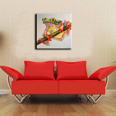 YHHP Frog Canvas Unframed Oil PaintingOil Paintings<br>YHHP Frog Canvas Unframed Oil Painting<br><br>Brand: YHHP<br>Craft: Oil Painting<br>Form: One Panel<br>Material: Canvas<br>Package Contents: 1 x Painting<br>Package size (L x W x H): 72.00 x 4.00 x 4.00 cm / 28.35 x 1.57 x 1.57 inches<br>Package weight: 0.2500 kg<br>Painting: Without Inner Frame<br>Product size (L x W x H): 60.00 x 60.00 x 1.00 cm / 23.62 x 23.62 x 0.39 inches<br>Product weight: 0.1500 kg<br>Shape: Square<br>Style: Modern<br>Subjects: Animal<br>Suitable Space: Bedroom,Dining Room,Hotel,Living Room