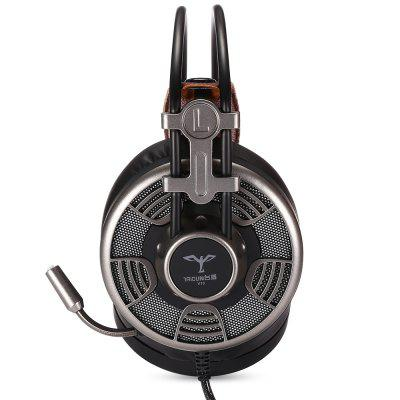 TAIDU V10 Gaming HeadphonesEarbud Headphones<br>TAIDU V10 Gaming Headphones<br><br>Application: Sport, Working, Running, Gaming<br>Brand: TAIDUN<br>Compatible with: PC, Computer<br>Connectivity: Wired<br>Function: Noise Cancelling, Voice control, Microphone<br>Impedance: 32ohms±15 percent<br>Material: ABS<br>Model: V10<br>Package Contents: 1 x Headphones<br>Package size (L x W x H): 22.80 x 13.00 x 22.50 cm / 8.98 x 5.12 x 8.86 inches<br>Package weight: 0.5810 kg<br>Plug Type: Micro USB<br>Product size (L x W x H): 22.00 x 11.00 x 21.00 cm / 8.66 x 4.33 x 8.27 inches<br>Product weight: 0.4390 kg<br>Sensitivity: 95 ± 3 dB<br>Type: Over-ear<br>Wearing type: Headband