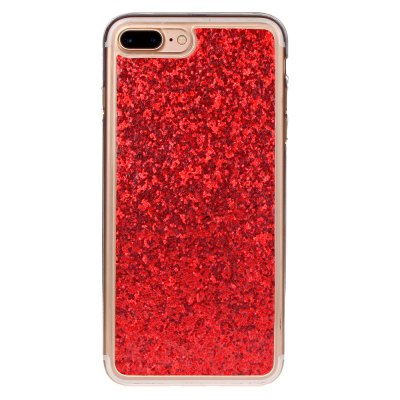 ASLING TPU Glitter Back Cover Case for iPhone 7 Plus glitter powder imd soft tpu back cover for iphone 7 lace