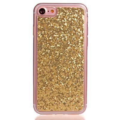 ASLING TPU Glitter Back Cover Case for iPhone 7 glitter powder imd soft tpu back cover for iphone 7 lace