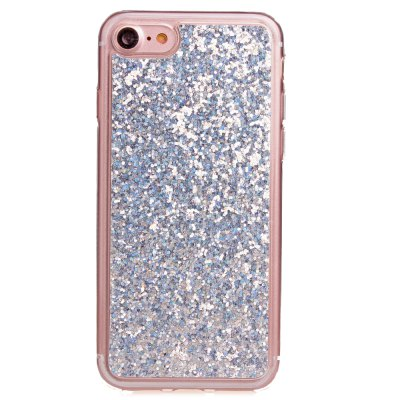 ASLING TPU Glitter Back Cover Case for iPhone 7 patterned glitter powder tpu imd back cover for iphone 7 adorable cat