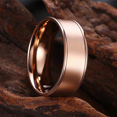 Rose Gold Plated Fashion RingRings<br>Rose Gold Plated Fashion Ring<br><br>Fabric: Others<br>Package Contents: 1 x Ring<br>Package size (L x W x H): 7.00 x 4.00 x 3.00 cm / 2.76 x 1.57 x 1.18 inches<br>Package weight: 0.0480 kg<br>Product weight: 0.0080 kg<br>Style: Fashion<br>Type: Rings