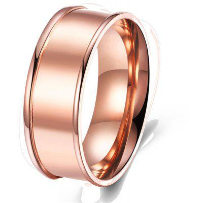 Buy ROSE GOLD Rose Gold Plated Fashion Ring for $3.78 in GearBest store