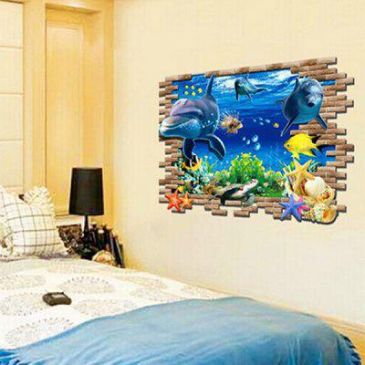 AY8009 3D Underwater World Wall StickerWall Stickers<br>AY8009 3D Underwater World Wall Sticker<br><br>Function: Decorative Wall Sticker<br>Material: Vinyl(PVC)<br>Package Contents: 1 x Wall Sticker<br>Package size (L x W x H): 62.00 x 6.00 x 6.00 cm / 24.41 x 2.36 x 2.36 inches<br>Package weight: 0.1650 kg<br>Product size (L x W x H): 60.00 x 90.00 x 1.00 cm / 23.62 x 35.43 x 0.39 inches<br>Product weight: 0.1020 kg<br>Quantity: 1<br>Subjects: Landscape<br>Suitable Space: Bedroom<br>Type: Plane Wall Sticker