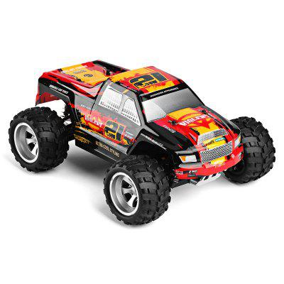 WLtoys 18402 1:18 4WD RC Monster Truck - RTRRC Cars<br>WLtoys 18402 1:18 4WD RC Monster Truck - RTR<br><br>Age: Above 14 years old<br>Battery Information: 6.4V 500mAh LiCo<br>Brand: WLtoys<br>Car Power: Built-in rechargeable battery<br>Charging Time: 120 Minutes<br>Control Distance: 30-80m<br>Detailed Control Distance: About 50m<br>Drive Type: 4 WD<br>Features: Radio Control<br>Functions: Turn left/right, Forward/backward<br>Material: Electronic Components, PA, PVC, ABS<br>Motor Type: Brushed Motor<br>Package Contents: 1 x RC Truck ( Battery Included ), 1 x Transmitter, 1 x USB Cable, 1 x English Manual<br>Package size (L x W x H): 43.00 x 25.50 x 21.50 cm / 16.93 x 10.04 x 8.46 inches<br>Package weight: 1.6600 kg<br>Product size (L x W x H): 25.30 x 20.00 x 11.50 cm / 9.96 x 7.87 x 4.53 inches<br>Product weight: 0.5960 kg<br>Proportion: 1:18<br>Racing Time: 7~8mins<br>Remote Control: 2.4GHz Wireless Remote Control<br>Speed: 25km/h<br>Transmitter Power: 4 x 1.5V AA (not included)<br>Type: Monster Truck