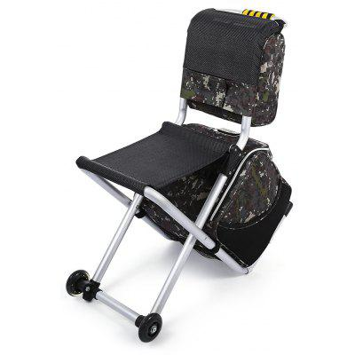 CTSmart Multifunctional Detachable Trolley Bag Folding Chair