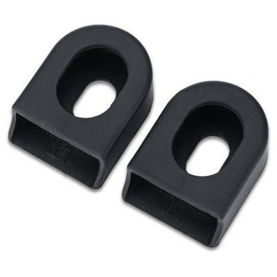 KTANKE Pair of Silicone Bike Bicycle Crank Protectors Covers