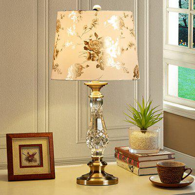 European Fashion Luxury Crystal Table Lamp 220V