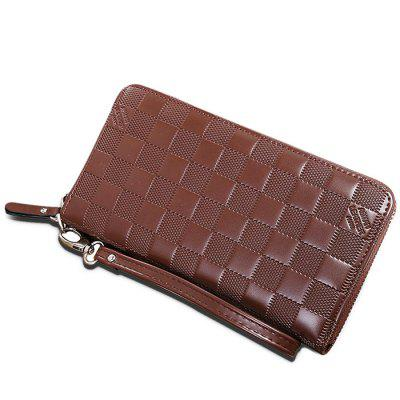Men Leisure Zipper Around Plaid Long WalletWallets<br>Men Leisure Zipper Around Plaid Long Wallet<br><br>Features: Wearable<br>Gender: Men<br>Material: Leather<br>Package Size(L x W x H): 21.50 x 4.50 x 12.00 cm / 8.46 x 1.77 x 4.72 inches<br>Package weight: 0.2200 kg<br>Packing List: 1 x Wallet<br>Product Size(L x W x H): 20.00 x 3.00 x 10.50 cm / 7.87 x 1.18 x 4.13 inches<br>Product weight: 0.1600 kg<br>Style: Casual, Fashion<br>Type: Wallet