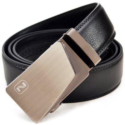 Fashion Business Genuine Leather Trouser Belt for MenMens Belts<br>Fashion Business Genuine Leather Trouser Belt for Men<br><br>Belt Buckle Type: Automatic Buckle<br>Material: Leather<br>Package Size(L x W x H): 25.00 x 18.00 x 10.00 cm / 9.84 x 7.09 x 3.94 inches<br>Package weight: 0.3000 kg<br>Packing List: 1 x Belt<br>Product weight: 0.2500 kg<br>Style: Business