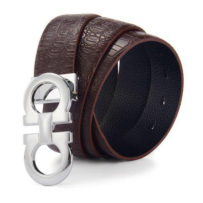 High-quality Male Automatic Buckle Trouser BeltMens Belts<br>High-quality Male Automatic Buckle Trouser Belt<br><br>Belt Buckle Type: Automatic Buckle<br>Material: Leather<br>Package Size(L x W x H): 18.00 x 18.00 x 6.00 cm / 7.09 x 7.09 x 2.36 inches<br>Package weight: 0.2700 kg<br>Packing List: 1 x Belt<br>Product weight: 0.1770 kg<br>Style: Business