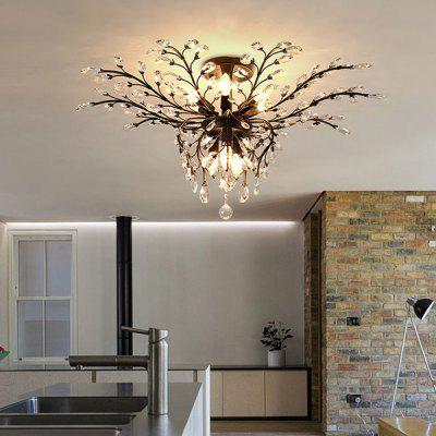LightMyself YQ1002 - 9B American Crystal ChandelierChandelier<br>LightMyself YQ1002 - 9B American Crystal Chandelier<br><br>Battery Included: No<br>Brand: LightMyself<br>Bulb Base: E14<br>Bulb Included: No<br>Chain / Cord Length ( CM ): 0cm<br>Features: Eye Protection<br>Fixture Height ( CM ): 42cm<br>Fixture Length ( CM ): 95cm<br>Fixture Width ( CM ): 95cm<br>Light Direction: Downlight<br>Number of Bulb: 9 Bulbs<br>Number of Bulb Sockets: 9<br>Package Contents: 1 x Lamp, 1 x English Installation Manual, 1 x Installation Kit, 1 x Spare Parts<br>Package size (L x W x H): 48.00 x 41.00 x 23.00 cm / 18.9 x 16.14 x 9.06 inches<br>Package weight: 8.4500 kg<br>Product weight: 7.8000 kg<br>Remote Control Supported: No<br>Shade Material: Crystal, Iron<br>Style: Modern/Contemporary<br>Suggested Room Size: 30 - 40?<br>Suggested Space Fit: Bedroom,Dining Room,Kids Room,Kitchen,Living Room,Office,Study Room<br>Type: Chandeliers<br>Voltage ( V ): 220V - 240V