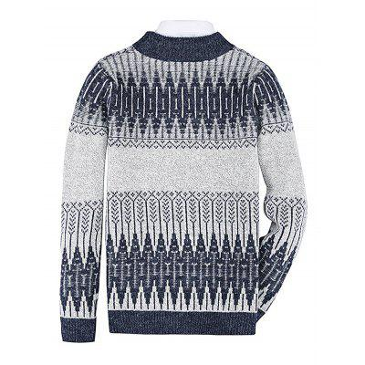 Male Round Collar Long Sleeves SweaterMens Sweaters &amp; Cardigans<br>Male Round Collar Long Sleeves Sweater<br><br>Material: Acrylic, Polyester<br>Package Contents: 1 x Sweater<br>Package size: 20.00 x 20.00 x 2.00 cm / 7.87 x 7.87 x 0.79 inches<br>Package weight: 0.4400 kg<br>Product weight: 0.4000 kg