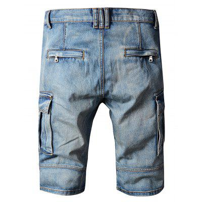 Straight Leg Jeans Zipper Fly Shorts for MenMens Shorts<br>Straight Leg Jeans Zipper Fly Shorts for Men<br><br>Material: Cotton<br>Package Contents: 1 x Shorts<br>Package size: 35.00 x 25.00 x 2.00 cm / 13.78 x 9.84 x 0.79 inches<br>Package weight: 0.5700 kg<br>Product weight: 0.5000 kg