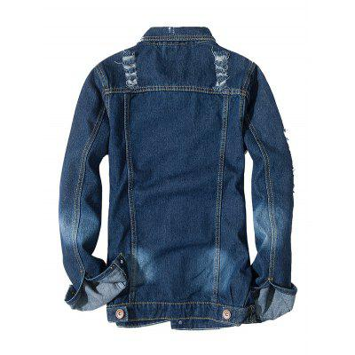 Long Sleeves Jeans Jacket for MenMens Jackets &amp; Coats<br>Long Sleeves Jeans Jacket for Men<br><br>Closure Type: Single Breasted<br>Clothes Type: Jackets<br>Embellishment: Others<br>Materials: Cotton, Polyester<br>Package Content: 1 x Jacket<br>Package Dimension: 20.00 x 20.00 x 2.00 cm / 7.87 x 7.87 x 0.79 inches<br>Package weight: 0.9400 kg<br>Pattern Type: Others<br>Product weight: 0.9000 kg<br>Seasons: Autumn,Spring<br>Shirt Length: Regular<br>Sleeve Length: Long Sleeves<br>Style: Fashion<br>Thickness: Medium thickness