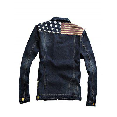Trendy Long Sleeves Jeans Jacket for MenMens Jackets &amp; Coats<br>Trendy Long Sleeves Jeans Jacket for Men<br><br>Closure Type: Single Breasted<br>Clothes Type: Others<br>Embellishment: Others<br>Materials: Cotton, Polyester<br>Package Content: 1 x Jacket<br>Package Dimension: 20.00 x 20.00 x 2.00 cm / 7.87 x 7.87 x 0.79 inches<br>Package weight: 0.9400 kg<br>Pattern Type: Others<br>Product weight: 0.9000 kg<br>Seasons: Autumn,Spring<br>Shirt Length: Regular<br>Sleeve Length: Long Sleeves<br>Style: Formal<br>Thickness: Medium thickness