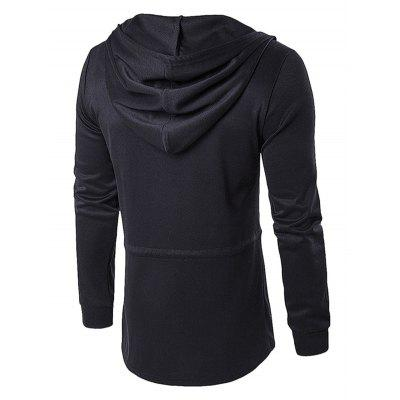Darkness Series Windproof Male CoatMens Jackets &amp; Coats<br>Darkness Series Windproof Male Coat<br><br>Closure Type: Zipper<br>Clothes Type: Long Coat<br>Embellishment: Others<br>Materials: Cotton, Polyester<br>Package Content: 1 x Coat<br>Package Dimension: 36.00 x 27.00 x 3.00 cm / 14.17 x 10.63 x 1.18 inches<br>Package weight: 0.5200 kg<br>Pattern Type: Others<br>Product weight: 0.4500 kg<br>Seasons: Autumn<br>Shirt Length: Long<br>Sleeve Length: Long Sleeves<br>Style: Casual, Fashion, Streetwear, Active<br>Thickness: Medium thickness