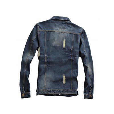 Long Sleeves Fashion Jeans Jacket for MenMens Jackets &amp; Coats<br>Long Sleeves Fashion Jeans Jacket for Men<br><br>Closure Type: Single Breasted<br>Clothes Type: Others<br>Embellishment: Others<br>Materials: Cotton, Polyester<br>Package Content: 1 x Jacket<br>Package Dimension: 20.00 x 20.00 x 2.00 cm / 7.87 x 7.87 x 0.79 inches<br>Package weight: 0.9400 kg<br>Pattern Type: Others<br>Product weight: 0.9000 kg<br>Seasons: Autumn,Spring<br>Shirt Length: Regular<br>Sleeve Length: Long Sleeves<br>Style: Fashion<br>Thickness: Medium thickness
