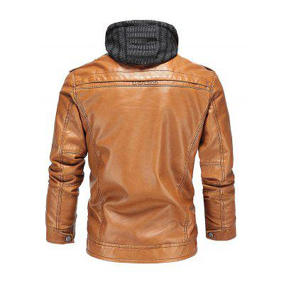 Classic Removable Fleece Lined Sheepskin Male CoatMens Jackets &amp; Coats<br>Classic Removable Fleece Lined Sheepskin Male Coat<br><br>Closure Type: Zipper<br>Clothes Type: Leather &amp; Suede<br>Embellishment: Zippers<br>Materials: Fleece, Polyester, PU<br>Package Content: 1 x Coat<br>Package Dimension: 40.00 x 30.00 x 4.00 cm / 15.75 x 11.81 x 1.57 inches<br>Package weight: 1.4300 kg<br>Pattern Type: Others<br>Product weight: 1.3600 kg<br>Seasons: Winter<br>Shirt Length: Regular<br>Sleeve Length: Long Sleeves<br>Style: Classic, Casual, Fashion, Leather, Punk<br>Thickness: Thickening