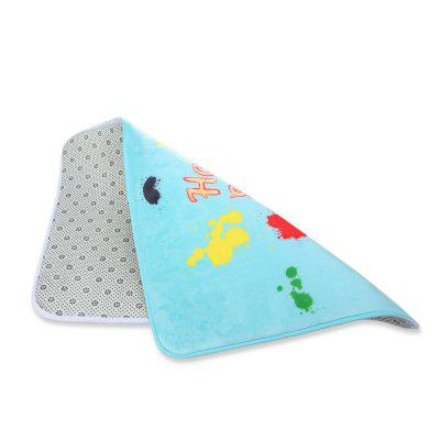 Cute Rabbit Ears Printed Rectangle Flannel DoormatOther Bathroom Accessories<br>Cute Rabbit Ears Printed Rectangle Flannel Doormat<br><br>Feature: Flannel<br>Package Contents: 1 x Flannel Doormat<br>Package size (L x W x H): 62.00 x 42.00 x 3.00 cm / 24.41 x 16.54 x 1.18 inches<br>Package weight: 0.2320 kg<br>Product size (L x W x H): 60.00 x 40.00 x 1.00 cm / 23.62 x 15.75 x 0.39 inches<br>Product weight: 0.1920 kg<br>Type: Doormat