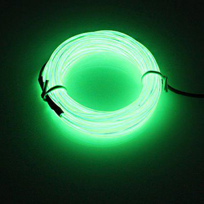 BRELONG 5m DC12V EL LED Battery Case Supply Light StripNovelty lighting<br>BRELONG 5m DC12V EL LED Battery Case Supply Light Strip<br><br>Available Light Color: Green<br>Brand: BRELONG<br>Features: Easy to use, Energy Saving, Lightweight, Long Life Expectancy<br>Function: Outdoor Lighting, Home Lighting, Commercial Lighting<br>Holder: Wired<br>Output Power: 3W<br>Package Contents: 1 x Light Strip<br>Package size (L x W x H): 13.00 x 8.00 x 5.00 cm / 5.12 x 3.15 x 1.97 inches<br>Package weight: 0.1900 kg<br>Product size (L x W x H): 500.00 x 0.23 x 0.23 cm / 196.85 x 0.09 x 0.09 inches<br>Product weight: 0.1200 kg<br>Sheathing Material: Silicone<br>Voltage (V): DC 12V