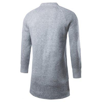 Stylish Casual Knitted Long Male CardiganMens Sweaters &amp; Cardigans<br>Stylish Casual Knitted Long Male Cardigan<br><br>Material: Cotton<br>Package Contents: 1 x Cardigan<br>Package size: 20.00 x 20.00 x 2.00 cm / 7.87 x 7.87 x 0.79 inches<br>Package weight: 0.5000 kg<br>Product weight: 0.4500 kg
