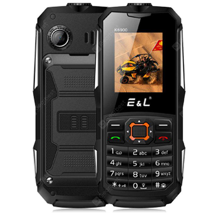 EL K6900 Quad Band 1.77 inch IP68 Waterproof Unlock Phone