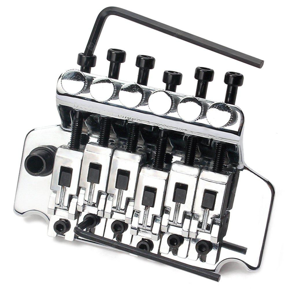 electric guitar floyd rose tremolo bridge double locking system free shipping. Black Bedroom Furniture Sets. Home Design Ideas