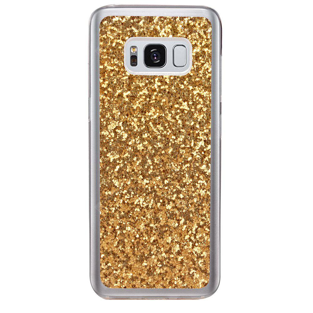 ASLING TPU Glitter Back Cover Case for Samsung Galaxy S8