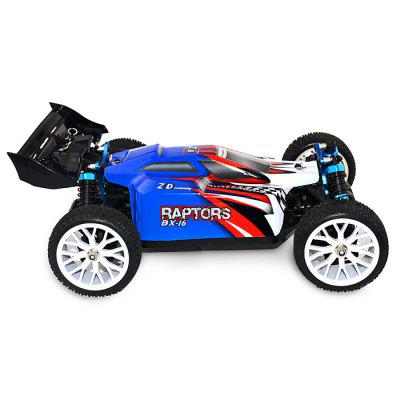 ZD Racing 16421 - V2 1:16 4WD Off-road RC Truck - RTRRC Cars<br>ZD Racing 16421 - V2 1:16 4WD Off-road RC Truck - RTR<br><br>Battery Information: 7.4V 1500mAh 15C LiPo, 7.4V 1500mAh 15C LiPo<br>Brand: ZD Racing, ZD Racing<br>Car Power: Built-in rechargeable battery, Built-in rechargeable battery<br>Channel: 3-Channels, 3-Channels<br>Charging Time: 120 Minutes, 120 Minutes<br>Control Distance: 100-300m, 100-300m<br>Detailed Control Distance: About 200m, About 200m<br>Drive Type: 4 WD, 4 WD<br>Electronic Speed Controller: 30A ( continuous current ), brushless, 30A ( continuous current ), brushless<br>Features: Radio Control, Radio Control<br>Material: Rubber, Rubber, Metal, Metal, Nylon, Nylon, PVC, PVC, Electronic Components, Electronic Components<br>Motor Type: Brushless Motor, Brushless Motor<br>Package Contents: 1 x RC Truck ( Battery Included ), 1 x Transmitter, 1 x Charger, 1 x English Manual, 1 x RC Truck ( Battery Included ), 1 x Transmitter, 1 x Charger, 1 x English Manual<br>Package size (L x W x H): 28.80 x 24.20 x 20.20 cm / 11.34 x 9.53 x 7.95 inches, 28.80 x 24.20 x 20.20 cm / 11.34 x 9.53 x 7.95 inches<br>Package weight: 1.7200 kg, 1.7200 kg<br>Product size (L x W x H): 27.90 x 18.70 x 10.60 cm / 10.98 x 7.36 x 4.17 inches, 27.90 x 18.70 x 10.60 cm / 10.98 x 7.36 x 4.17 inches<br>Product weight: 0.7500 kg, 0.7500 kg<br>Proportion: 1:16, 1:16<br>Racing Time: 25 - 30mins, 25 - 30mins<br>Remote Control: 2.4GHz Wireless Remote Control, 2.4GHz Wireless Remote Control<br>Servo Type: 2.2kg high-torque, 2.2kg high-torque<br>Speed: 60km/h, 60km/h<br>Transmitter Power: 4 x 1.5V AA (not included), 4 x 1.5V AA (not included)<br>Type: Off-Road Car, Off-Road Car