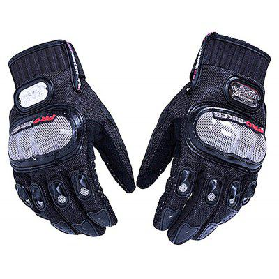 PROBIKER MCS   01A Motorcycle Racing Anti skid Half Finger Gloves