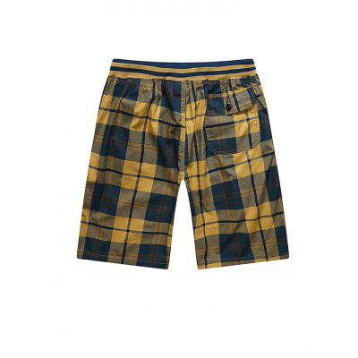 Casual Classic Cotton Checked ShortsMens Shorts<br>Casual Classic Cotton Checked Shorts<br><br>Material: Cotton<br>Package Contents: 1 x Men Shorts<br>Package size: 36.00 x 26.00 x 3.00 cm / 14.17 x 10.24 x 1.18 inches<br>Package weight: 0.4500 kg<br>Product weight: 0.4000 kg