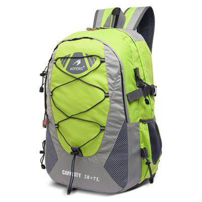 AOFENG Men Chic Outdoor Multifunctional Backpack