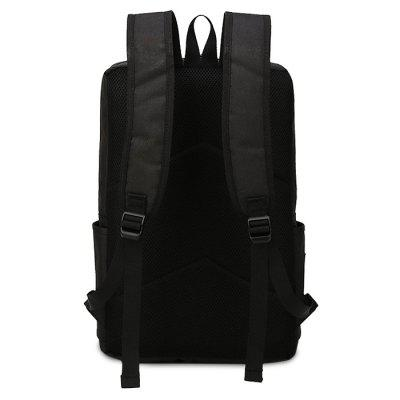 Men Fashion Business Water-resistant Computer BackpackBackpacks<br>Men Fashion Business Water-resistant Computer Backpack<br><br>Features: Wearable<br>Gender: Men<br>Material: Oxford Fabric<br>Package Size(L x W x H): 47.00 x 30.00 x 5.00 cm / 18.5 x 11.81 x 1.97 inches<br>Package weight: 0.5500 kg<br>Packing List: 1 x Backpack<br>Product weight: 0.5000 kg<br>Style: Business, Fashion<br>Type: Backpacks