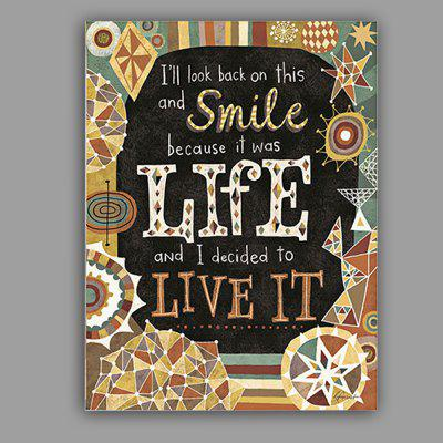 English Quote Canvas Artwork Wall Art Unframed Home Decoration Print