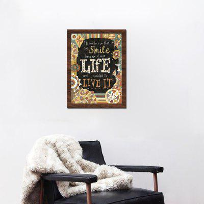 English Quote Wall Decor Print for Home DecorationPrints<br>English Quote Wall Decor Print for Home Decoration<br><br>Craft: Print<br>Form: One Panel<br>Material: Canvas<br>Package Contents: 1 x Print<br>Package size (L x W x H): 32.00 x 4.00 x 4.00 cm / 12.6 x 1.57 x 1.57 inches<br>Package weight: 0.1000 kg<br>Painting: Without Inner Frame<br>Product size (L x W x H): 30.00 x 40.00 x 0.10 cm / 11.81 x 15.75 x 0.04 inches<br>Product weight: 0.0400 kg<br>Shape: Horizontal<br>Style: Modern<br>Subjects: Words / Quotes<br>Suitable Space: Bedroom,Dining Room,Hotel,Living Room