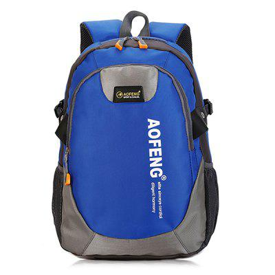 AOFENG Outdoor Multifunctional Men BackpackBackpacks<br>AOFENG Outdoor Multifunctional Men Backpack<br><br>Brand: AOFENG<br>Features: Wearable<br>Gender: Men<br>Material: Polyester<br>Package Size(L x W x H): 51.00 x 29.00 x 3.00 cm / 20.08 x 11.42 x 1.18 inches<br>Package weight: 0.5600 kg<br>Packing List: 1 x AOFENG Backpack<br>Product weight: 0.5200 kg<br>Style: Fashion, Casual<br>Type: Backpacks